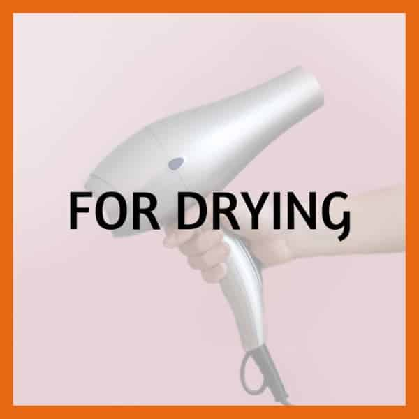 Best drying tools for dreads